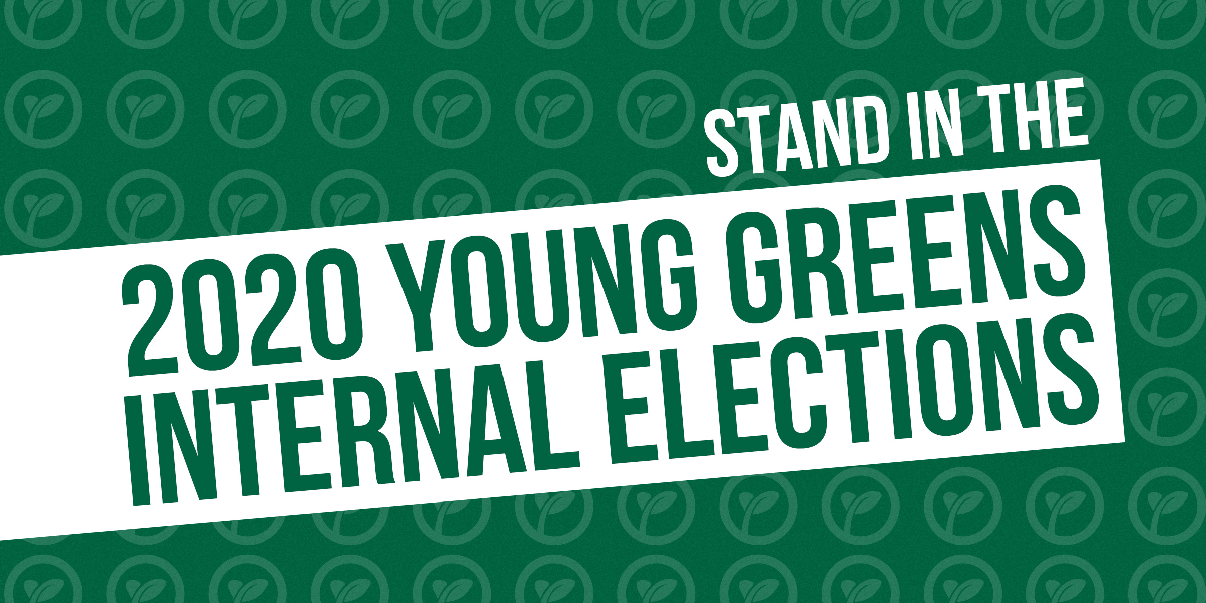 Stand in the 2020 Young Greens Internal Elections
