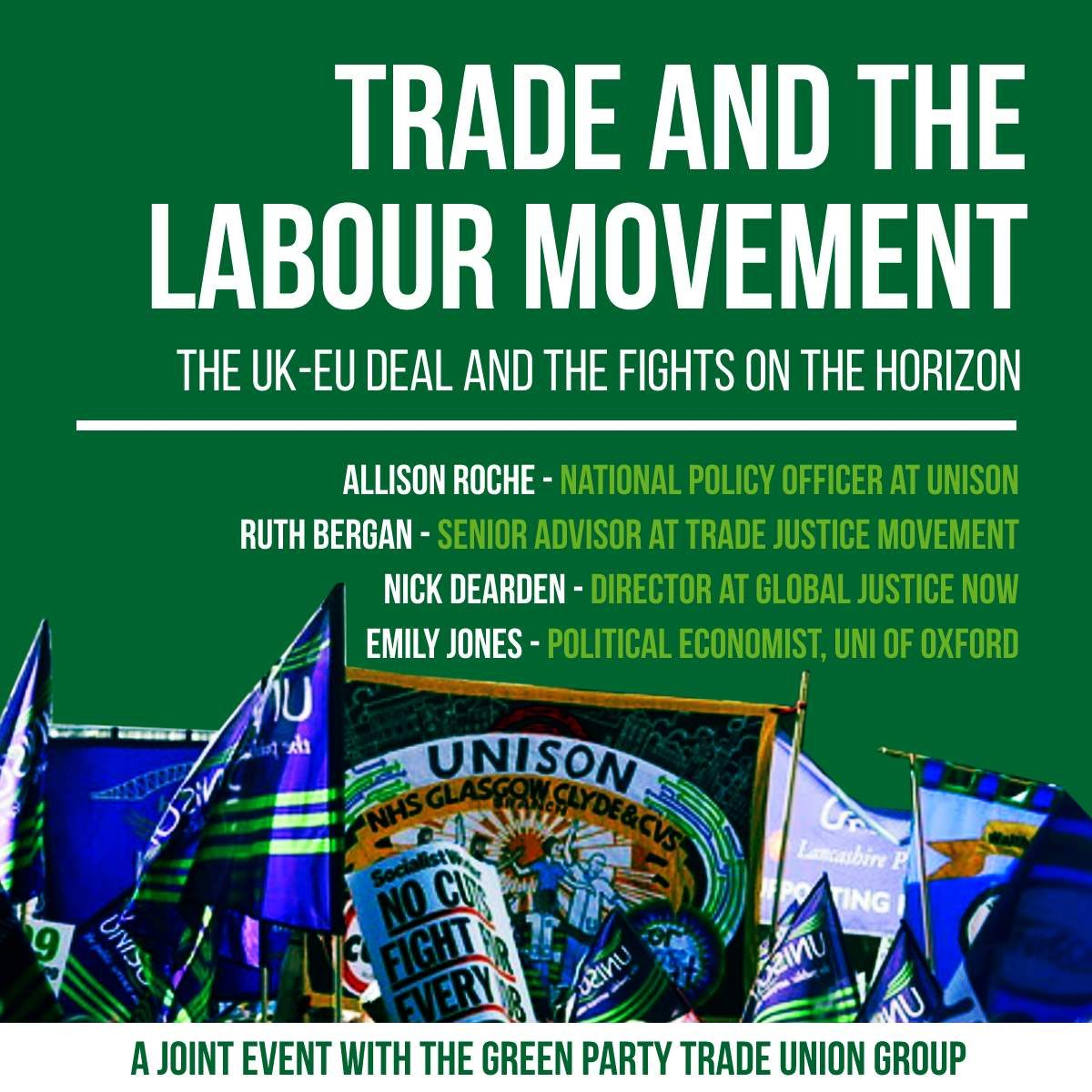 Trade & The Labour Movement: The UK-EU deal and the fights on the horizon